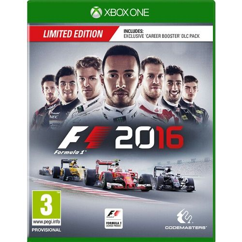 F1 2016 Xbox One Game