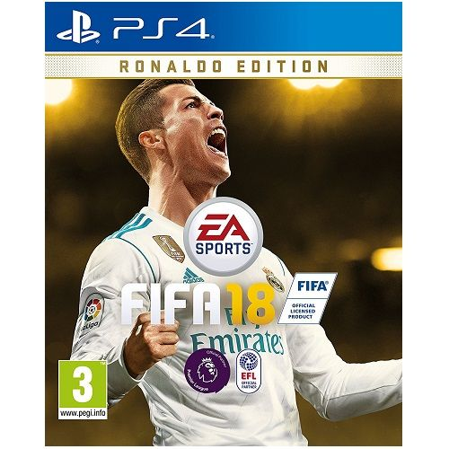 FIFA 18 Ronaldo Edition PS4 Game