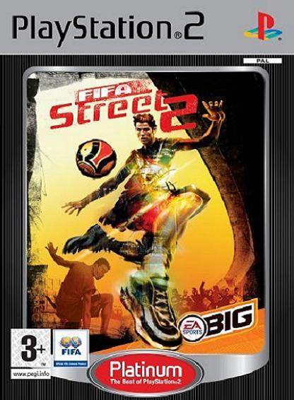 FIFA Street 2 Platinum PS2 Game