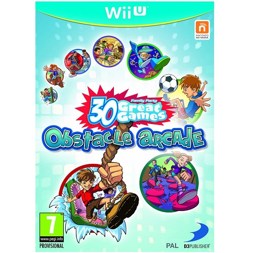 Family Party 30 Great Games Obstacle Arcade Wii U Game
