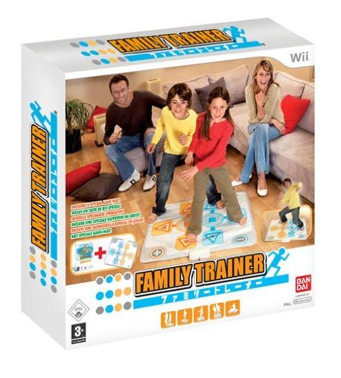 Family Trainer and Mat Nintendo Wii Game