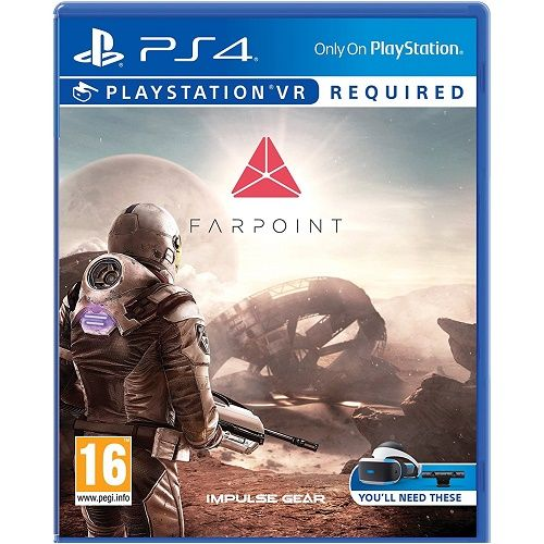 Farpoint [PSVR required] PS4 Game