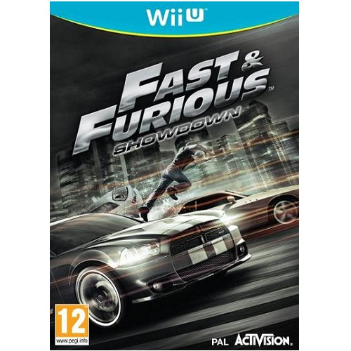 Fast & Furious Showdown Wii U Game