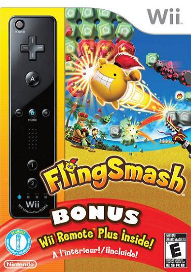Fling Smash and Wii Remote Plus Nintendo Wii Game