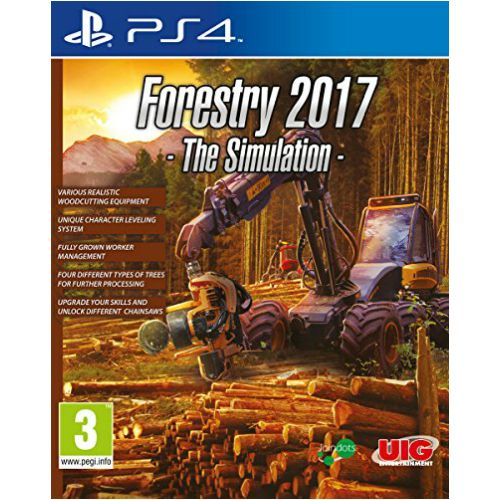Forestry 2017 The Simulation PS4 Game