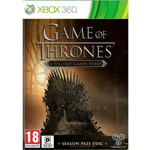 Game of Thrones Season 1 Xbox 360 Game