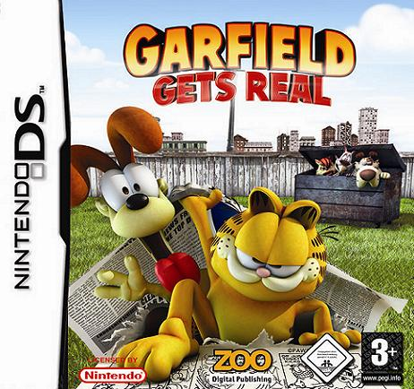 Garfield Gets Real Nintendo DS Game