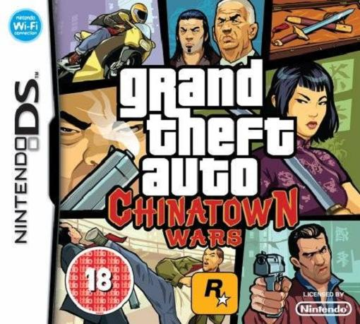 Grand Theft Auto Chinatown Wars Nintendo DS Game