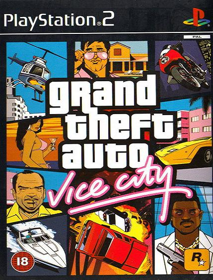 Grand Theft Auto Vice City PS2 Game