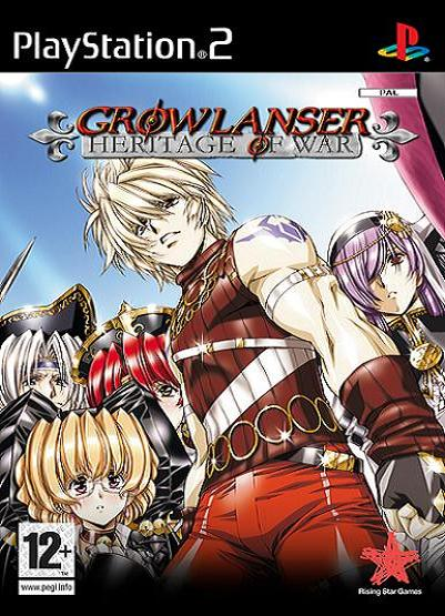 Growlanser: Heritage of War PS2 Game