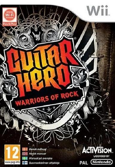 Guitar Hero Warriors of Rock Nintendo Wii Game