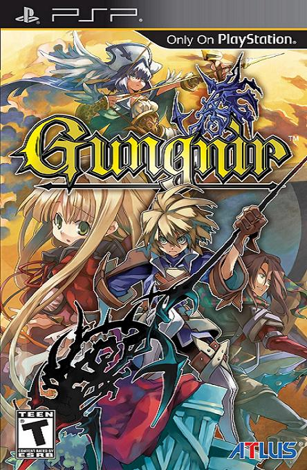 Gungnir PSP Game