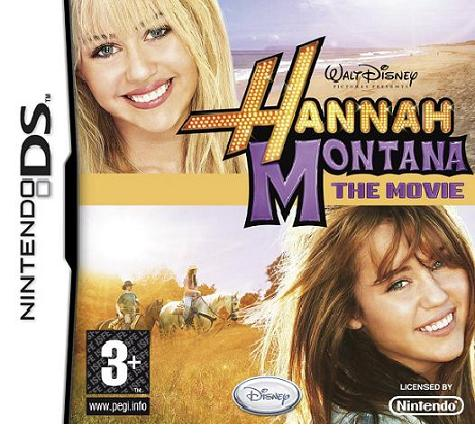 Hannah Montana The Movie for Nintendo DS - Gamereload
