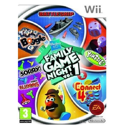 Hasbro Family Game Night Nintendo Wii Game