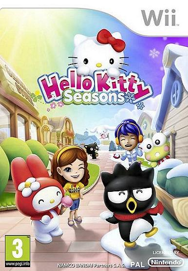 Hello Kitty Seasons Nintendo Wii Game