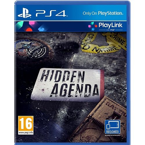 Hidden Agenda PS4 Game