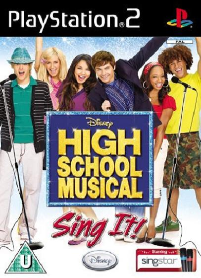 High School Musical Sing It (No Microphones) PS2 Game