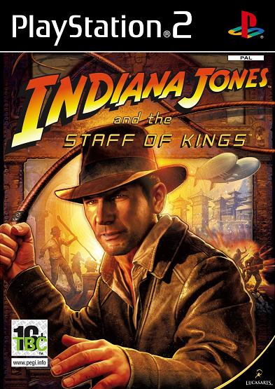 Indiana Jones and the Staff of Kings PS2 Game