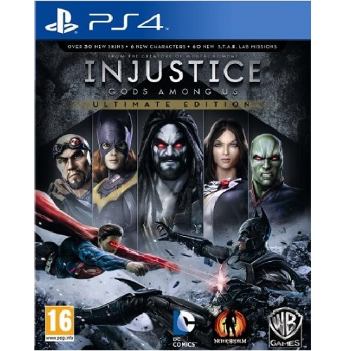 Injustice Gods Among Us Ultimate Edition PS4 Game