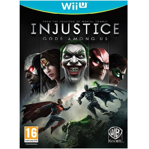 Injustice Gods Among Us Wii U Game