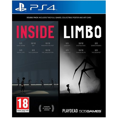Inside-Limbo Double Pack PS4 Game
