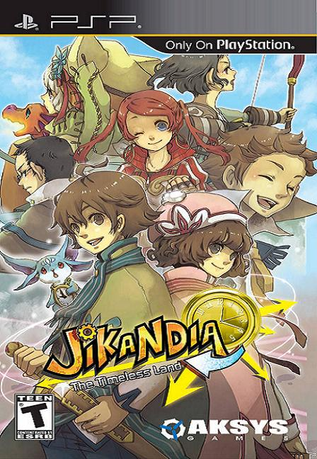 Jikandia PSP Game