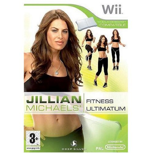 Jillian Michaels Fitness Ultimatum 2009 Nintendo Wii Game