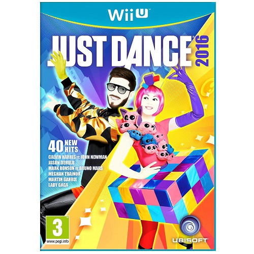 Just Dance 2016 Wii U Game