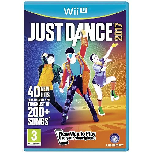 Just Dance 2017 Wii U Game