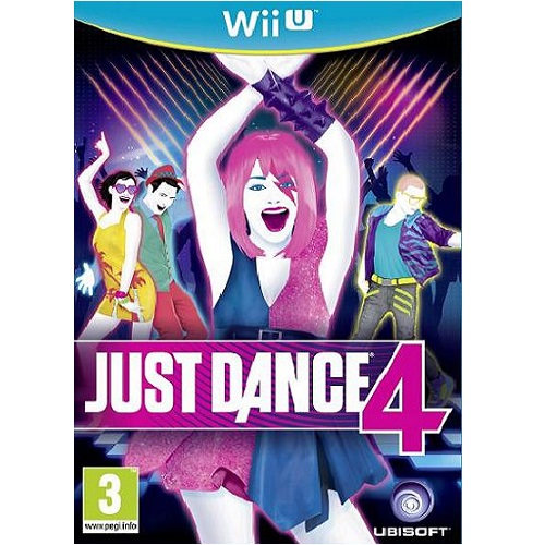 Just Dance 4 Wii U Game