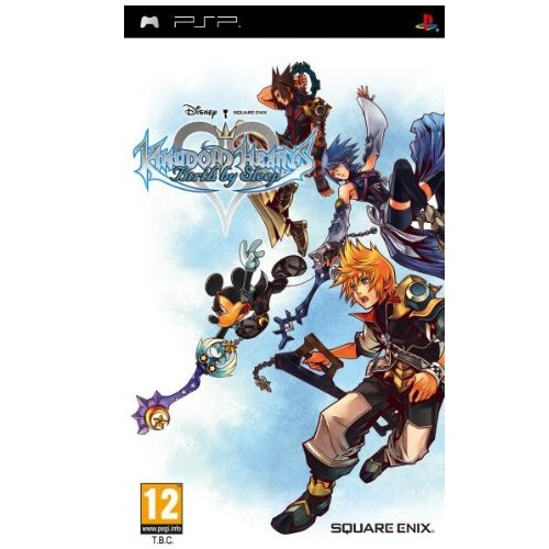 Kingdom Hearts Birth by Sleep PSP Game