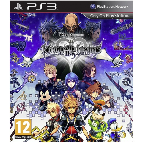 Kingdom Hearts HD 2.5 ReMIX PS3 Game