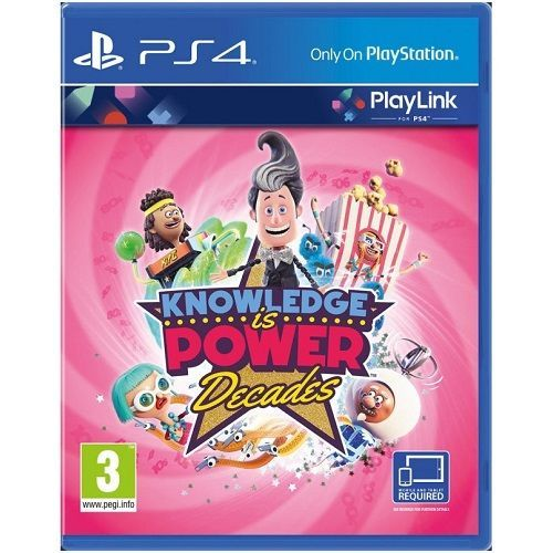 Knowledge is Power Decades PS4 Game