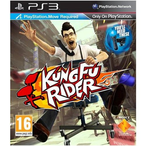 Kung Fu Rider (Move Required) PS3 Game