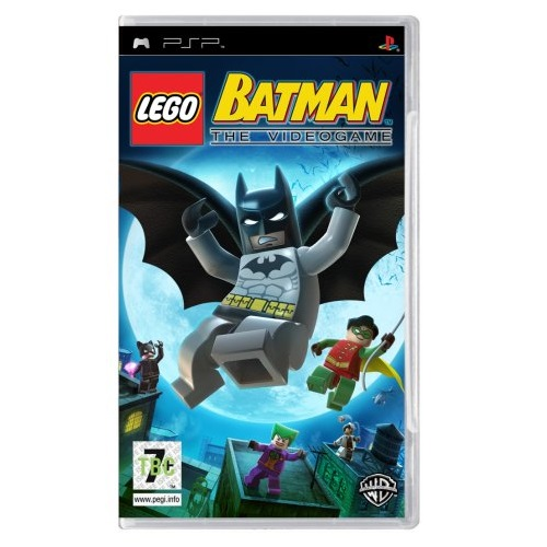 LEGO Batman The Videogame [Platinum/Essentials] PSP Game