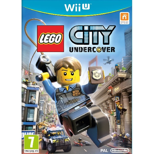 LEGO City Undercover Wii U Game