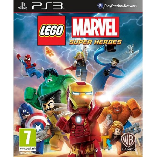 LEGO Marvel Super Heroes PS3 Game