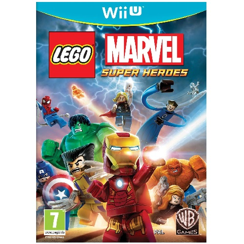 LEGO Marvel Super Heroes Wii U Game