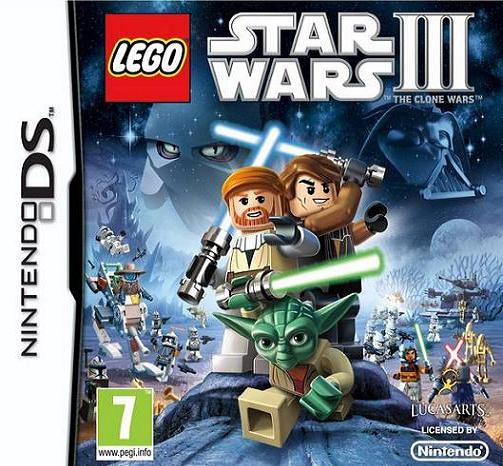 LEGO Star Wars III (3) The Clone Wars Nintendo DS Game