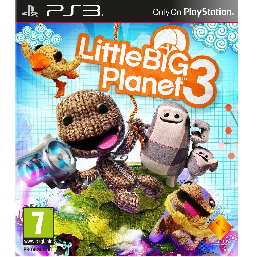 Little Big Planet 3 PS3 Game