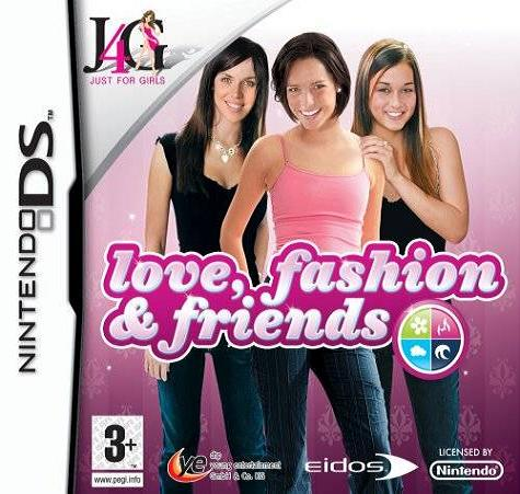 Love Fashion And Friends Nintendo DS Game