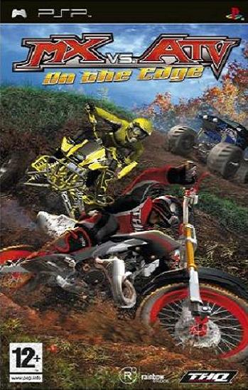 MX vs ATV Unleashed On the Edge PSP Game