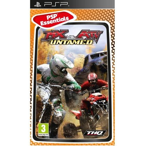 MX vs ATV Untamed PSP Game