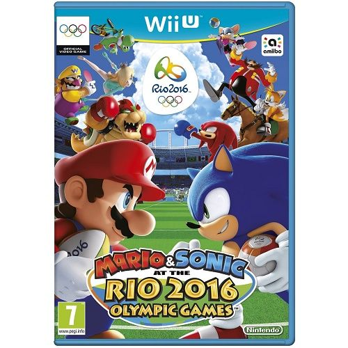 Mario & Sonic at the Rio 2016 Olympics Games Wii U Game