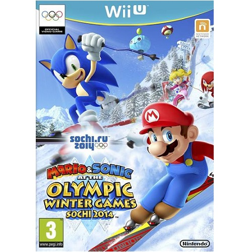 Mario & Sonic at the Sochi 2014 Winter Olympic Games Wii U Game