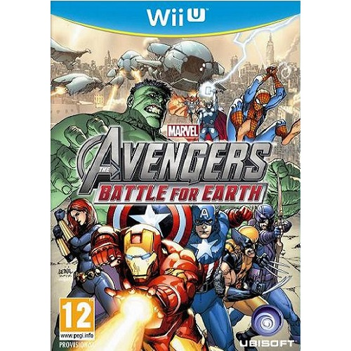 Marvel Avengers Battle for Earth Wii U Game
