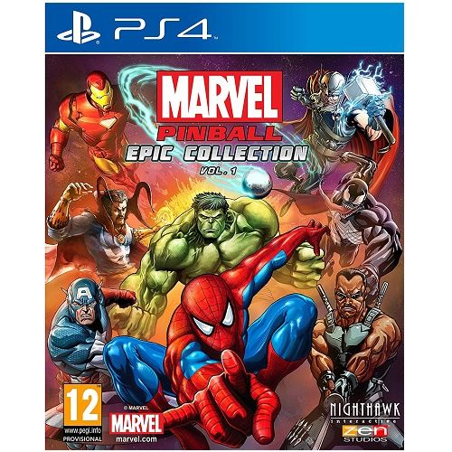Marvel Pinball Epic Collection Volume 1 PS4 Game