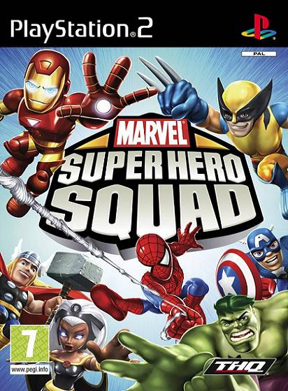 Marvel Super Hero Squad PS2 Game