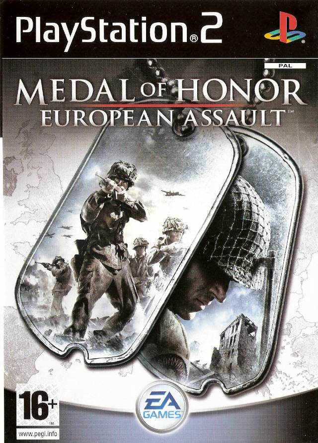 Medal of Honor European Assault PS2 Game