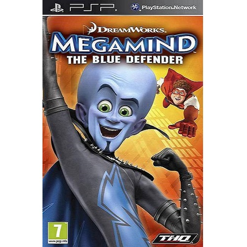 Megamind The Blue Defender PSP Game
